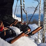 Snowshoeing in Duluth