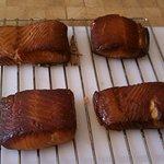 Smoked Chinook Salmon