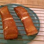 Smoked White King Salmon