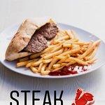 Sandwich steak