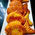 Legendary Taiyaki fish waffles ( Red Bean/ GreenTea/ Chocolate/ All day Breakfast /Cheese))