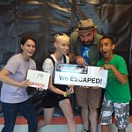 One of the most fun (and smartest!) groups, these first timers crushed it with time to spare!