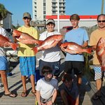 Families Large and Small catch Nice fish