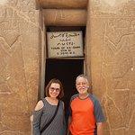 Na entrada da Mastaba