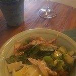 Buonissima insalata gustata lo scorso week end da Rivarno