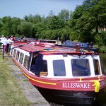 Our lovely canal boat the Elleswake.