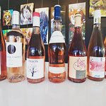 So many pinks to taste at buvez