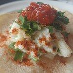 Vegan Seafood Taco