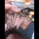 Medium cooked steak?