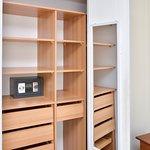 Closet y caja de seguridad en todos los departamentos