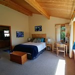 Ocean Suite with large bay window, private bathroom and kitchenette