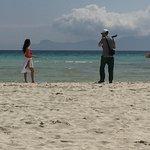 Wide lovely beach