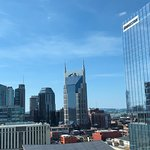 Great view from our room.  Wonderful stay at the Omni.  Beautiful hotel fantastic service