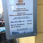 Restaurant Savotta Photo