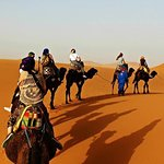 Camel ride in Merzouga Sahara desert