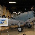 Plane on display