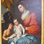 Madonna and Child with John the Baptist - Matteo Cerezo (1635-1685)