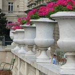 Jardim de Luxemburgo na primavera