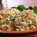 Chicken Spinach Stack- everyones favorite!