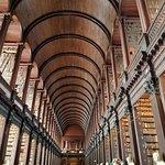 The Long Room in Trinity College, Dublin, Ireland