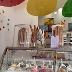 Don't miss the award winning gelati at Crispini