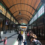 Central Station of Wroclaw Foto