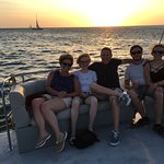 Octopus Aruba Sunset Sailing The Best Deal Ccoktails Rum Punch Aruba Ariba Caribbean Sea Beautif