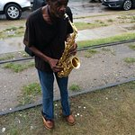 Street Musician in New Orleans