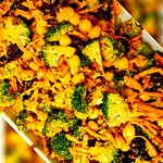 Curried Broccoli and Chickpea Salad