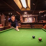 Enjoy a game of Billiards