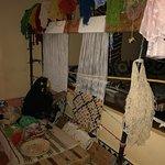 Kira's mother weaving