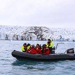 Small Group Glacier Lagoon Zodiac Boat Tour