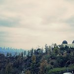 Observatory overlooking Los Angeles, CA.