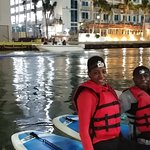 Miami River Night Paddle Experience
