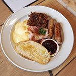 Friends Breakfast at Friends Cafe
