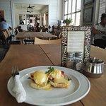 Eggs Bendict at Friends Cafe