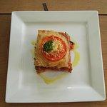 Vegetarian Mousaka at Friends Cafe