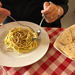 linguine aglio, olio e peperoncino