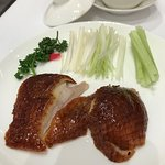the last pieces of the Beijing Duck
