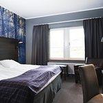 Best Western Stöten Ski Hotel renoverades 2015 med modern fjällinspirerad inredning.