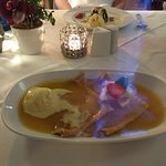 Crepe Suzette with Flamed Cointreau