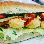 #shrimpsandwich