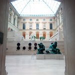 One of the spectacular sculpture galleries.