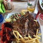 T-bone steak in Pella Taverna