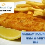 Monday Madness R65 for Fish & Chips