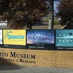 Waikato Museum sign