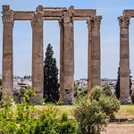 Temple of Olympian Zeus, Athens by Segyourway Athens