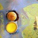 Egg tart and Salted Egg Pastry