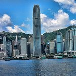 The Ocean Terminal Deck, looking at Hong Kong Island
