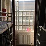 房間內可見的市景